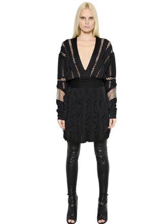 dress knit black