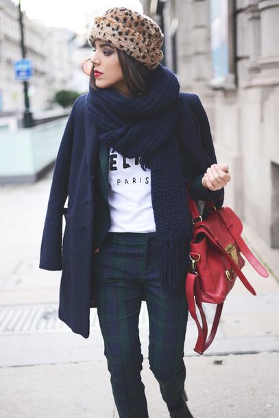 the fashion through my eyes hat coat t-shirt shoes bag