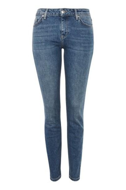 Topshop jeans denim vintage blue