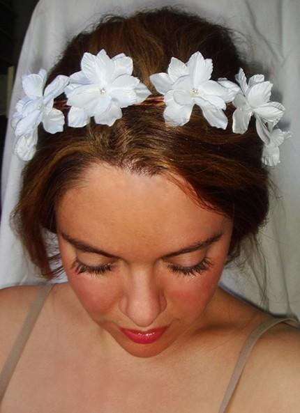 Lyla flower headband by luciabella1 on etsy