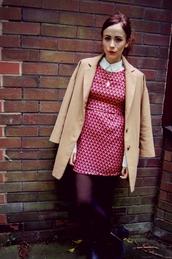 dress,geometric,geometric print,red,orange,fashion blogger,Pop Couture