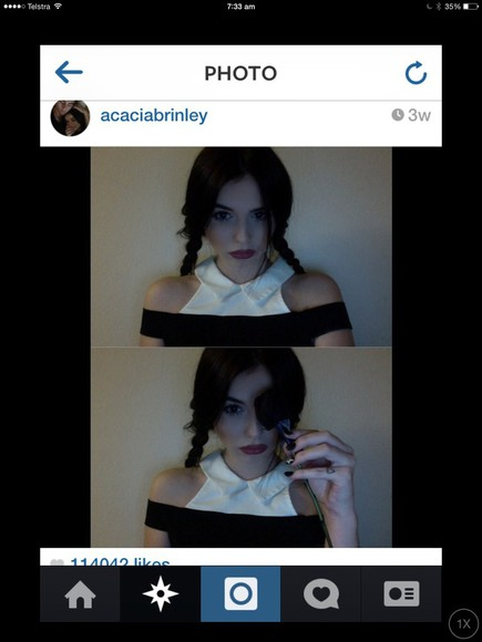 acacia brinley black and white dress nasty gal