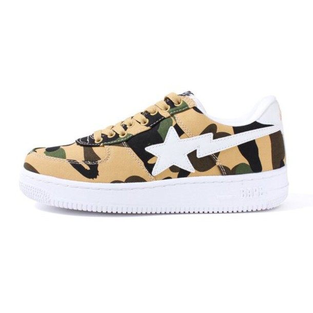 shoes bape