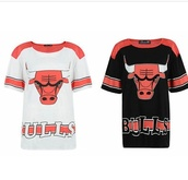 shirt,chicago bulls,t-shirt,clothes