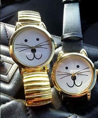 Cat quartz steel wrist watch