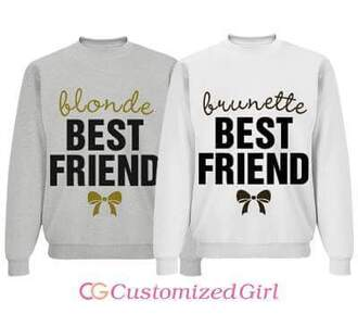 sweater best friends sweatshirts