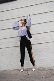pants,joggers,jogger dress pants,leg slits,dressy