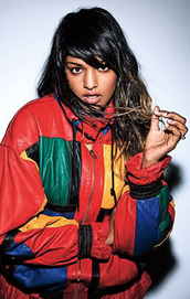 jacket,m.i.a.,multicolor,90s style,windbreaker,black girls killin it