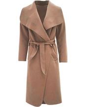 coat,cape coat,camel,drape coat,kim kardashian coat