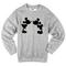 Mickey and minnie mouse sweatshirt - basic tees shop