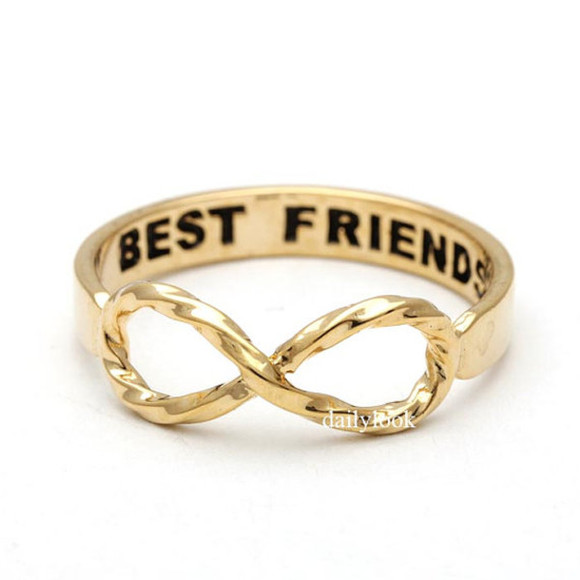 jewels infinity ring jewelry best friends infinity ring infinity best friend ring etsyshop etsy best friends ring