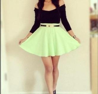 skirt teal