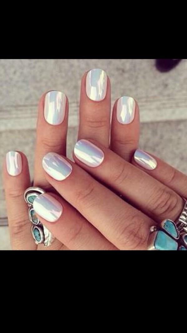 Nail Polish White Nails