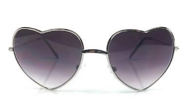 Vintage Retro Fashion Lolita Heart Shaped Aviator Metal Frame Women Sunglasses | eBay