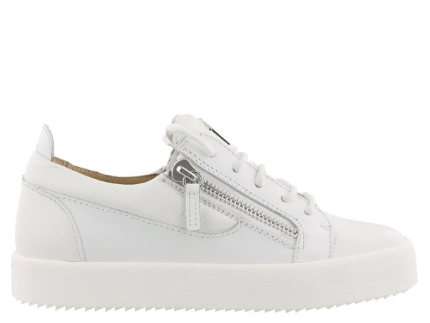 Giuseppe Zanotti london white shoes