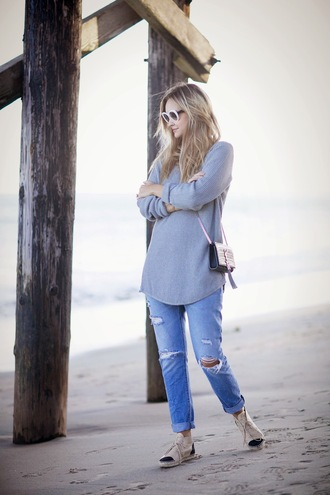 late afternoon blogger jeans jewels yves saint laurent clutch