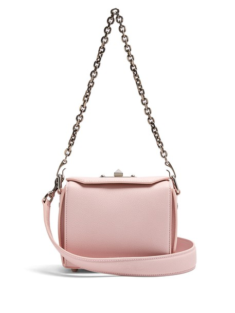 Alexander Mcqueen mini bag shoulder bag leather light pink light pink