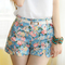 Aliexpress.com : buy 2014 new arrival women's girl summer elastic mid waist cute casual beach short free shipping wholesale price with belt  from reliable short road bike stem suppliers on dora sweet shop