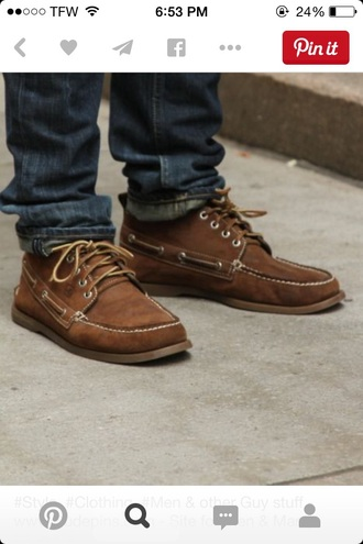 shoes brown shoes sperrys leather