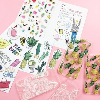 home accessory yeah bunny stickers tumblr