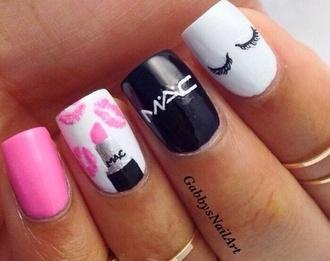 nail polish pink nails