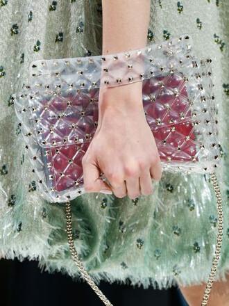 bag shoulder bag transparent
