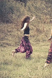 pants,clothes,purple,stained,colorful,boho,hippie,large,low,bohemian