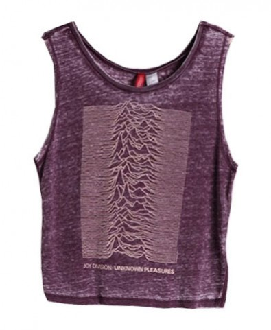 Joy Division Graphic Burnout Tank - Tanks & Vest Tops - T-shirts & Tanks - Clothing