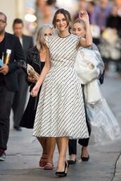 dress,polka dots,keira knightley,50s style