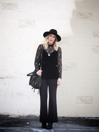b. jones style blogger hat shirt tank top pants shoes bag