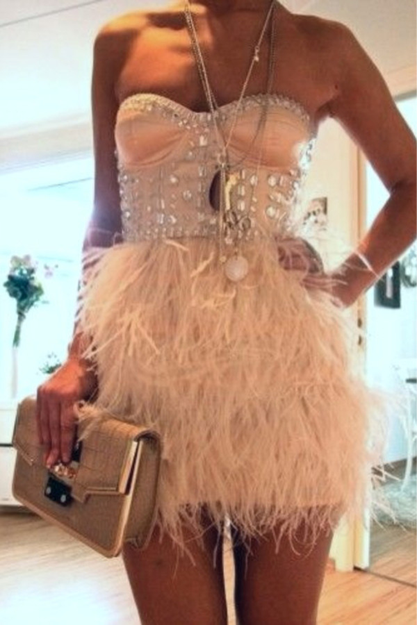 dress feather dress fringed dress where can i buy this dress