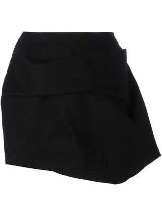 skirt short skirt short black