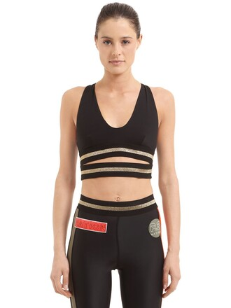 bra sports bra black underwear