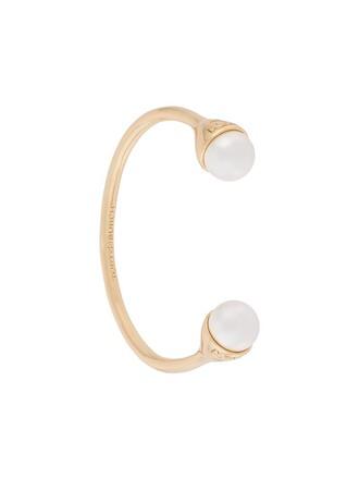 cuff open cuff bracelet metallic jewels