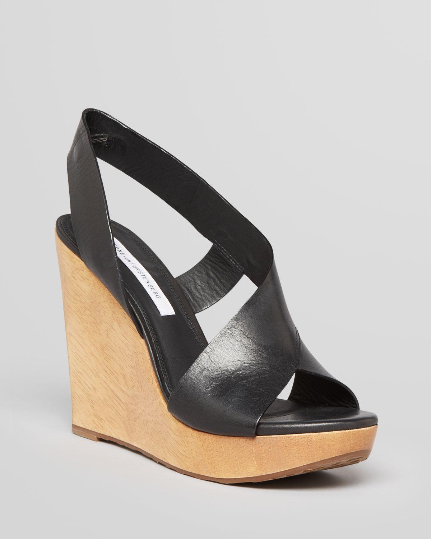 DIANE von FURSTENBERG Platform Wedge Sandals - Sunny | Bloomingdale's