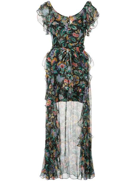 Alice McCall dress maxi dress maxi women black silk