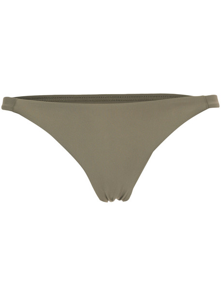 MATTEAU bikini women spandex green swimwear