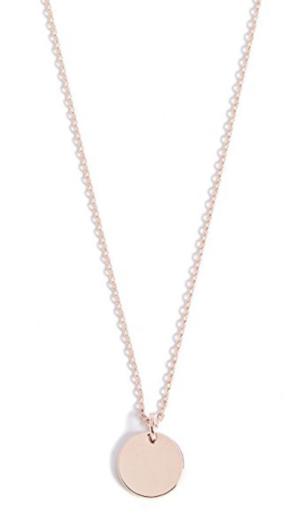 Cloverpost Limit Necklace in gold / rose