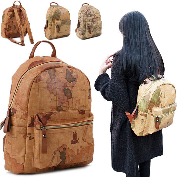 Copi free shipping backpack for unisex map backpack copi free shipping backpack for unisex map backpack casual bag gumiabroncs Gallery