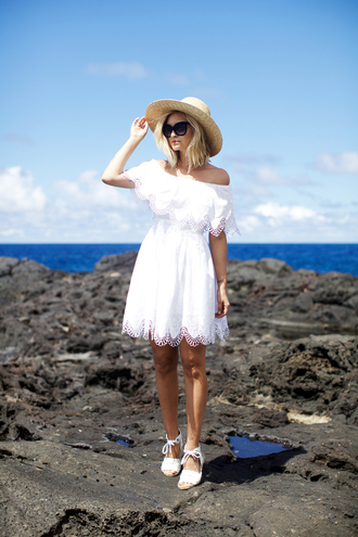 late afternoon blogger dress shoes hat sunglasses