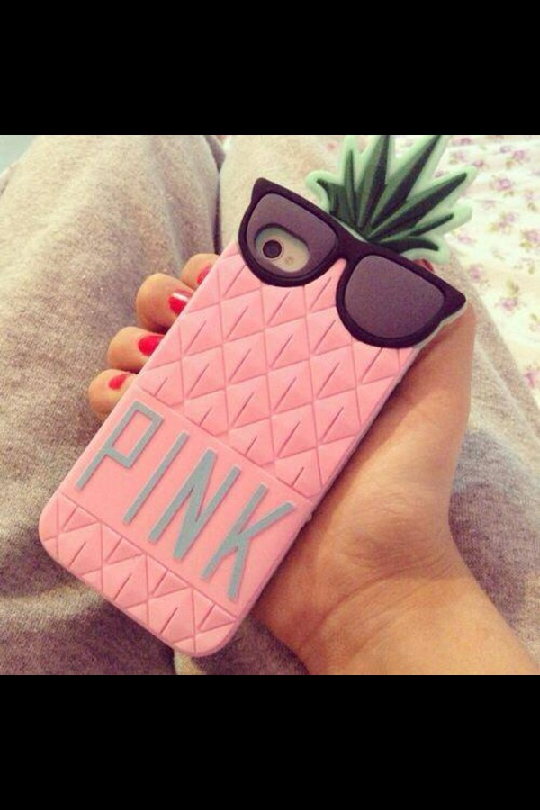 bag phone cover pink girly case for iphone 4/4s/5