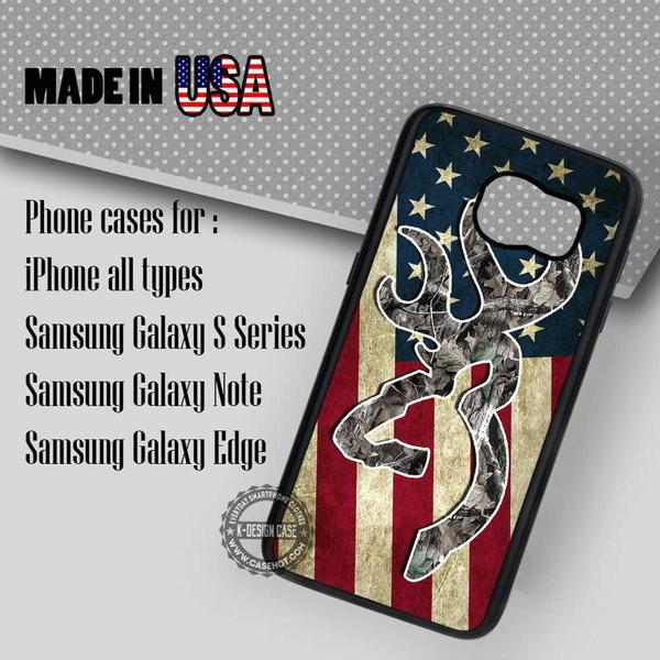 Samsung S7 Case - America Flag Vintage Deer- iPhone Case #SamsungS7Case #art #yn