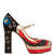 Astrocouture suede Mary-Jane pumps