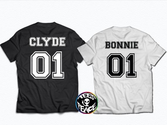 BONNIE CLYDE – TEES2PEACE