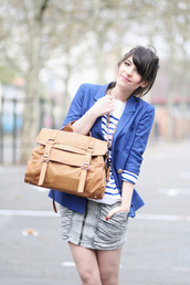 betty,brown bag,school bag,bag,skirt