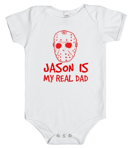 JASON IS MY REAL DAD | Baby One Piece | SKREENED