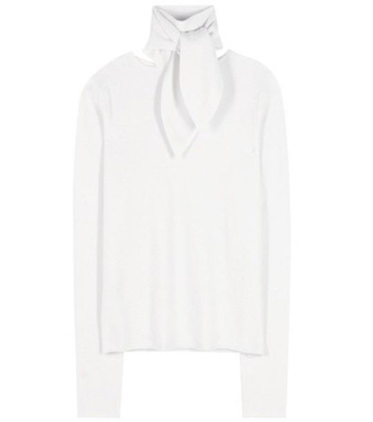Chloé Cashmere Sweater in white