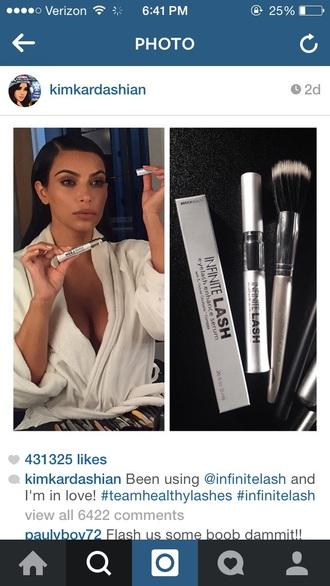 make-up kim kardashian
