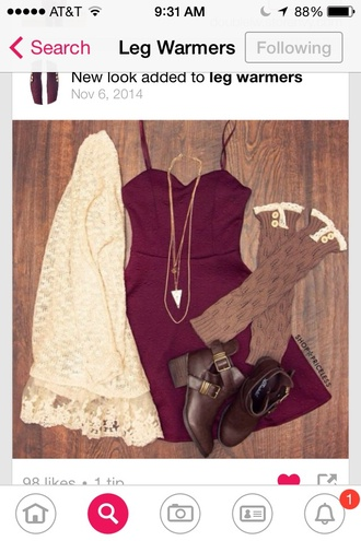 dress burgundy dress red red dress clothes cute girl girly dress girly