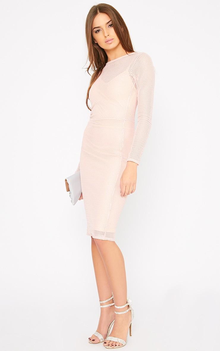 ... Net Midi Dress - Dresses - PrettyLittleThing   PrettyLittleThing.com